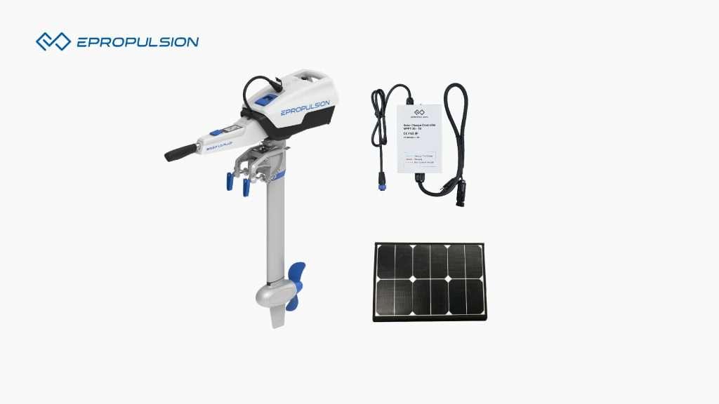 Solar Powered Boat Motor System